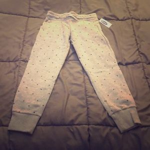 Old Navy kids grey drawstring sweatpants S (617)